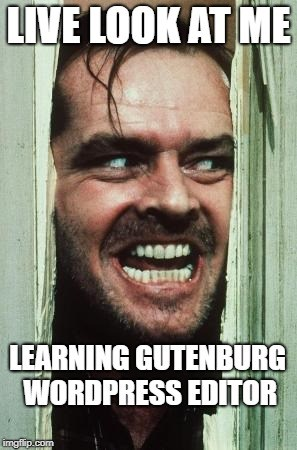 Blog-Memes-Learning-Gutenburg-WordPress-Editor